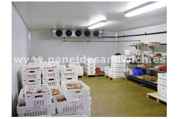 El mejor precio en Panel Sandwich Frigorífico para cámaras de conservación de alimentos