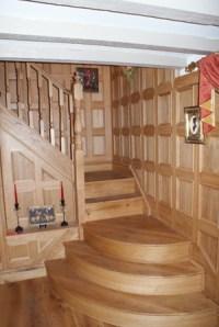 Opulent Oak Wood Panelling | Study Room Wood Panelling ...