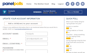Important Information About Your Panelpolls Account