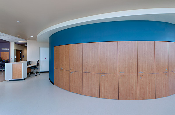 Parkland Hospital Round Cabinets