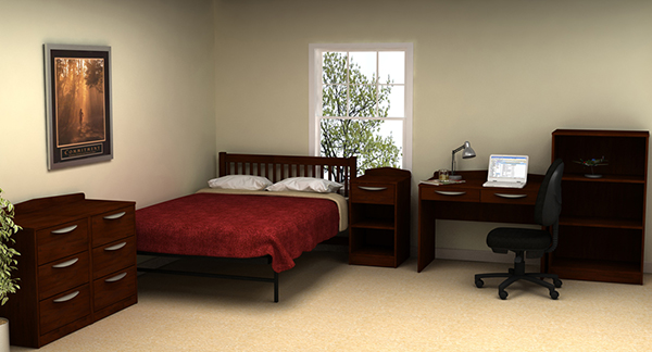 Residential Room 6 - Residence Hall Furniture