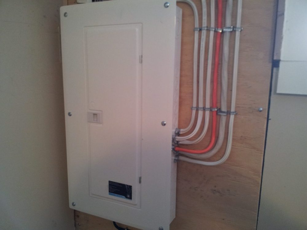 medium resolution of one of a double 60 amp fuse box upgrade calgary