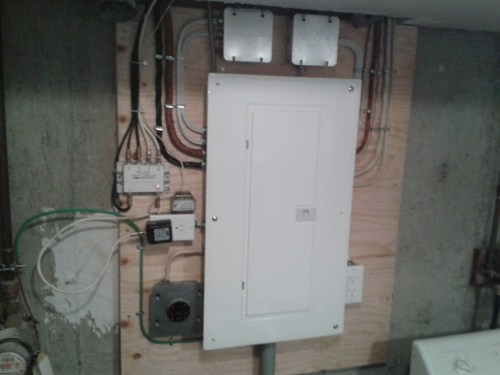 small resolution of power panel upgrade
