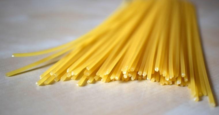 Los formatos de pasta – unos ejemplos