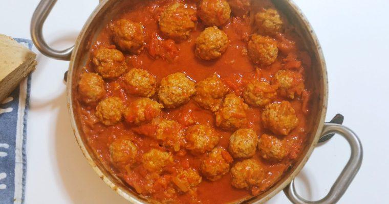 Polpette al sugo (Albóndigas con tomate)