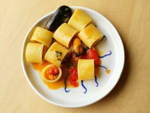 Paccheri pomodoro e cozze