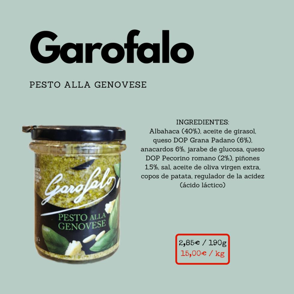 Pesto Garofalo ficha