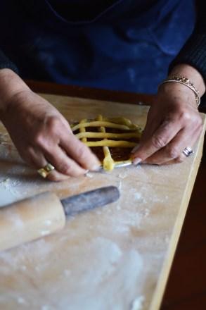 Crostatina con gli scarti