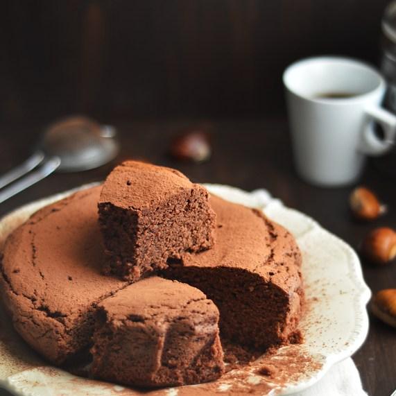 tortacastagneecioccolato