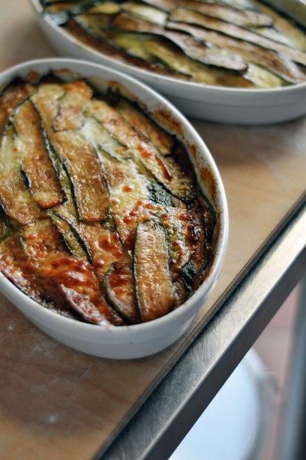 Parmigiana di zucchini