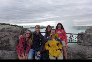 The Young Adventurer's Fall crew takes in the sights of Niagara Falls!