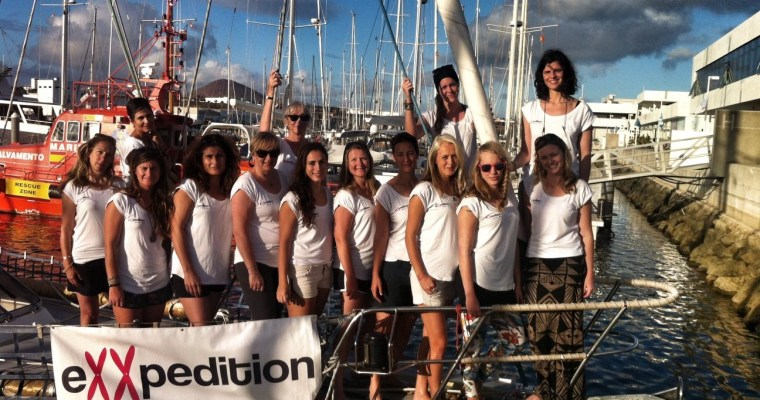 eXXpedition: Setting sail from Lanzarote