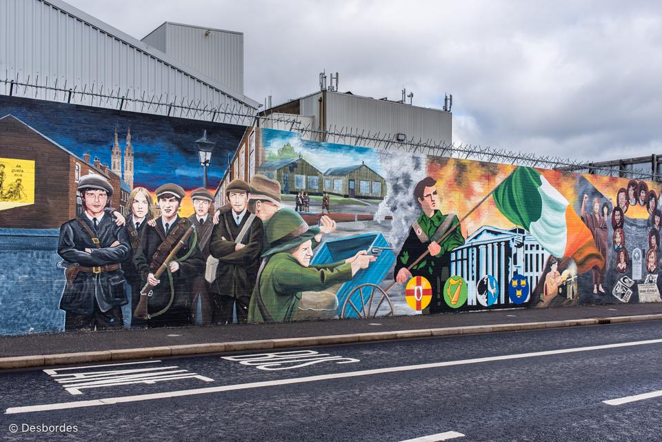 En repérage à Belfast