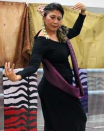 The author dancing at the UP Dance Studio in Dec 2010