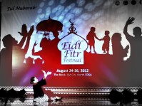 A classic AlunAlun pangalay choreography to the music of National Artists