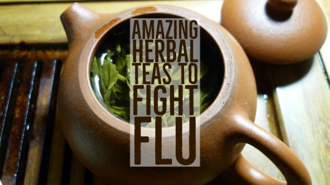 Amazing Herbal Teas Fight Flu