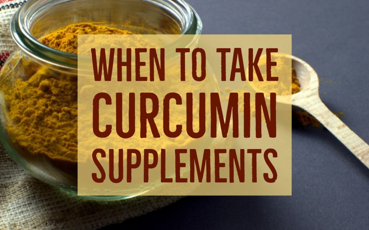 When to Take Curcumin Supplements