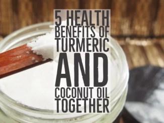 Many Turmeric And Coconut Oil Health Benefits
