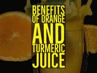 health benefits of turmeric and orange juice