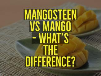 mangosteen and mango