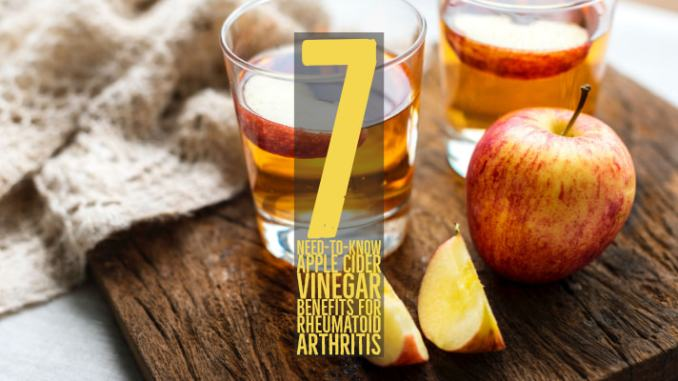 Need-to-Know Apple Cider Vinegar Benefits For Rheumatoid Arthritis