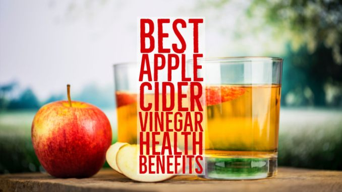 top health benefits of apple cider vinegar