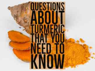 Questions about turmeric