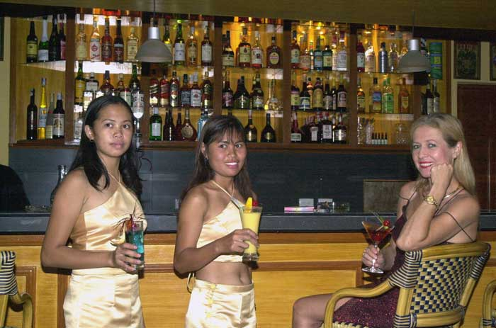 Sunside alona beach cocktail bar and restaurant