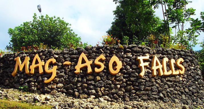 Mag aso falls bohol philippines entrance