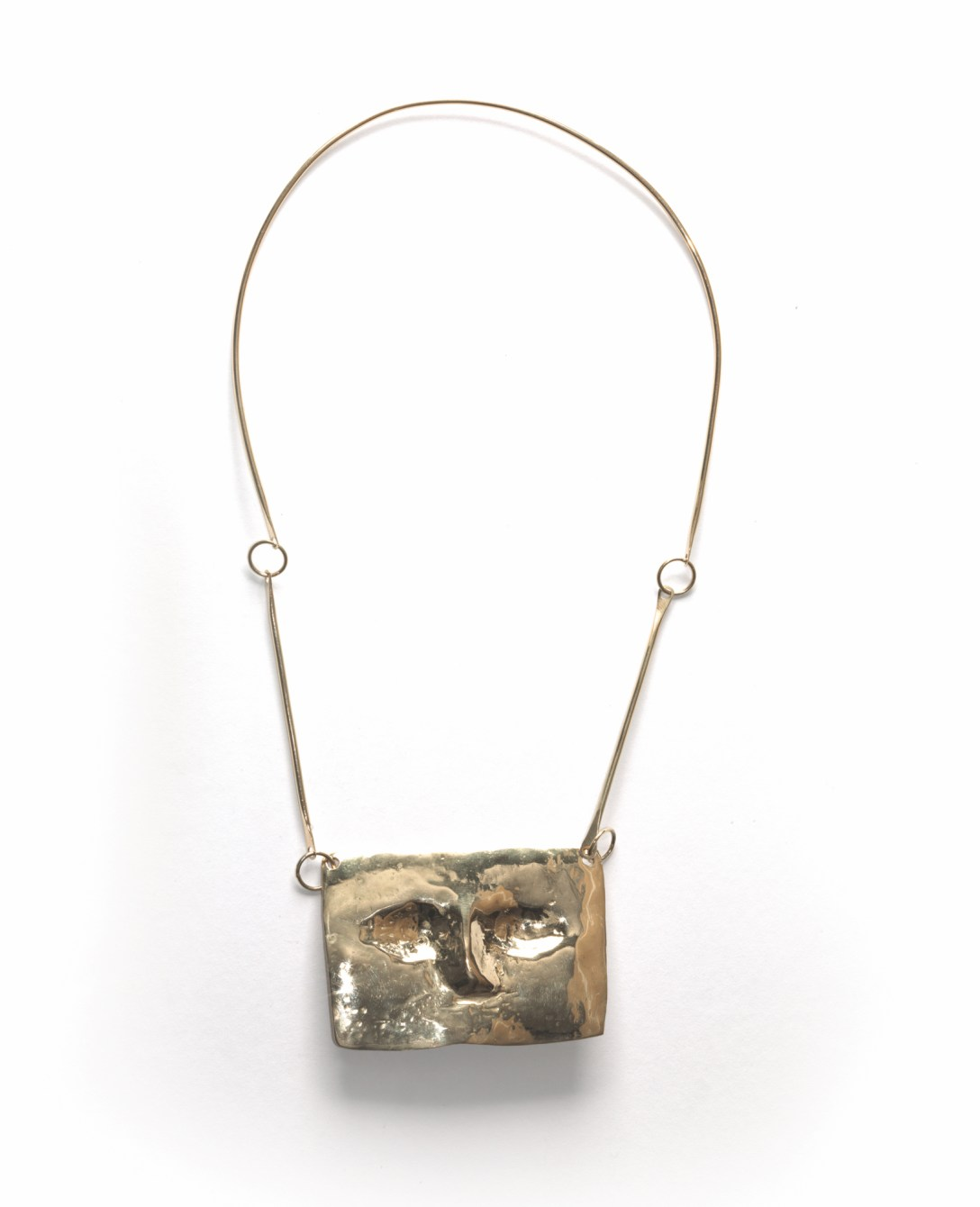 'Chadwick' Pectoral 'Necklace' which has been 'Cast' in 'Gold' by Pangolin Editions