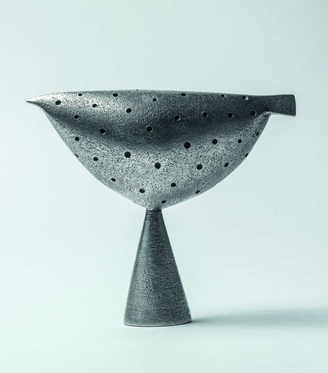 'Silver' 'Casting' of Jon Buck's 'Sculpture' Early Bird at Pangolin Editions