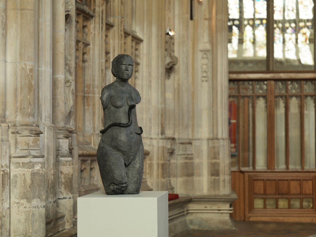 'bronze' 'sculpture' by 'artist' Anthony Abrahams, 'cast' by Pangolin Editions