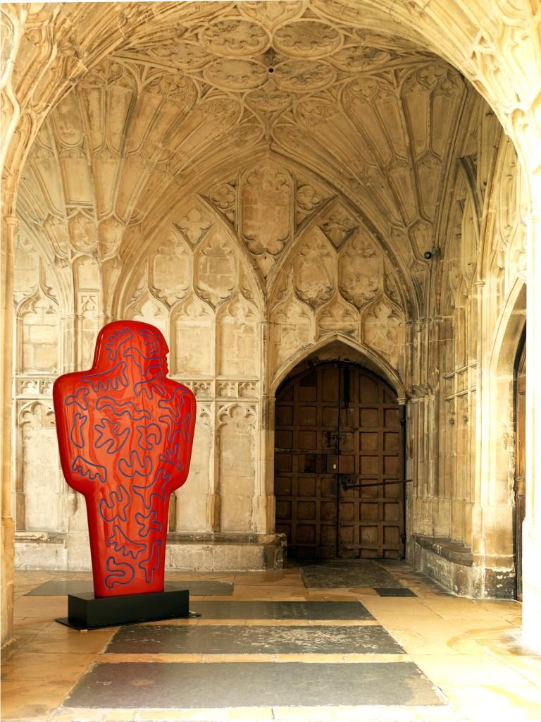 'Bronze' 'Sculpture' with 'paint' 'patina' by 'artist' Jon Buck, 'cast' by Pangolin Editions
