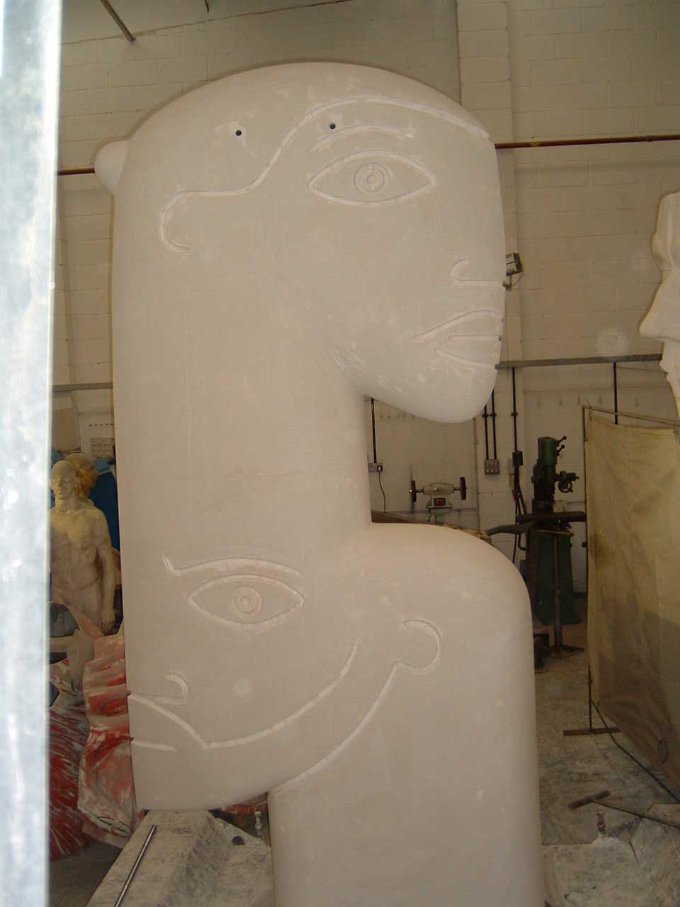 'Bronze' 'sculpture' by 'artist' Jon Buck, 'cast' at Pangolin Editions