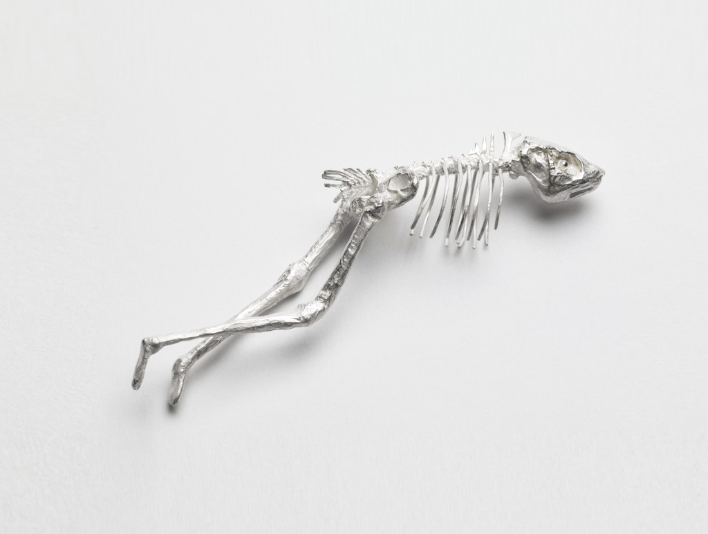 Abigail Fallis 'Silver' 'Sculpture' Something fishy 'Cast' by Pangolin Editions
