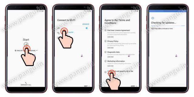 Samsung Galaxy A7 (2018) 8.0 Frp Lock Remove google account done connect samsung galaxy to wifi