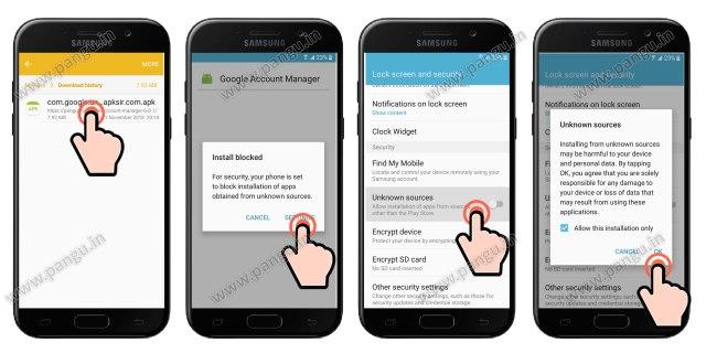 FRP Samsung Galaxy J7 Prime (G610f, G610Fn) J7 Max (G615f, G615fn