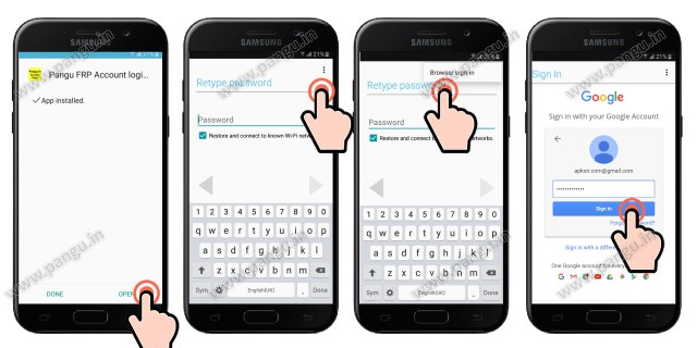 FRP Samsung Galaxy J5 Prime (J500F J510MN, G570f, G570M, J530G