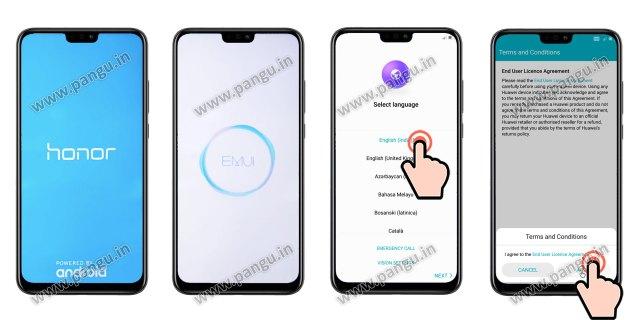 remove frp Completeinitialsetup Huawei Honor 8X JSN-L22
