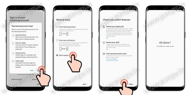 restore the samsung galaxy mobile samsung cloud, hushsms frp apk