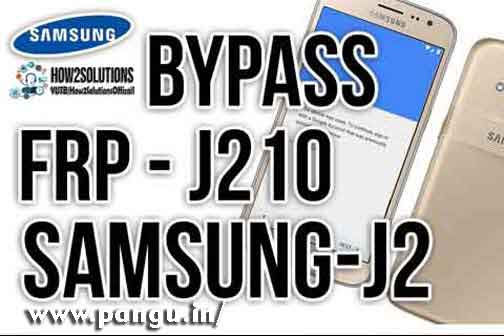 Samsung Galaxy J2 (2016, 2015, 2018) Bypass Google account FRP lock