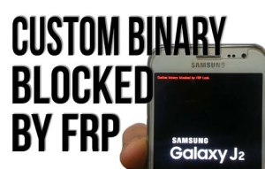 Custom binary blocked by reactivation FRP lock