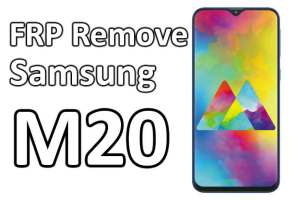 FRP Bypass SAMSUNG GALAXY M20 Android 8.1