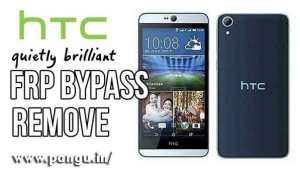 HTC Desire 626s Bypass Google account FRP