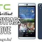 HTC Desire 626s Bypass Google account FRP