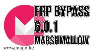 Samsung 6.0.1 marshmallow frp bypass