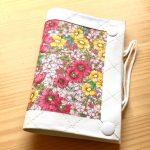 No.4 携帯マスクケース リバティ Gloria Flowers pink … ¥1,400 (布・厚紙)(大きさ:縦・横約14cm x 高さ約21cm) (水濡れ厳禁)