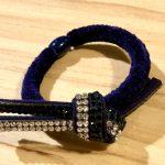 No.12-10 Eclat Ribbon Deuxe … ¥1,500 (ガラスストーン・合皮)