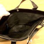 No.78 大型バッグ … ¥12,000 (大きさ:約29cm x 約42cm マチ約8cm)(牛革)