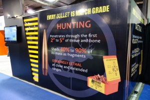 Berger Bullets booth at 2016 SHOT Show